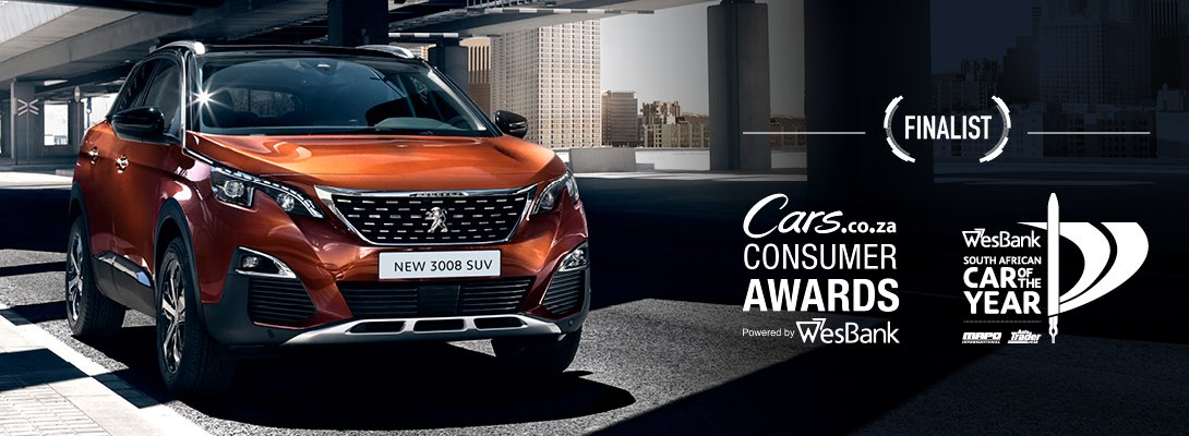 New Peugeot 3008 Car of the year